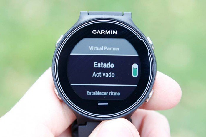 Garmin Forerunner 630 - Configurar virtual partner