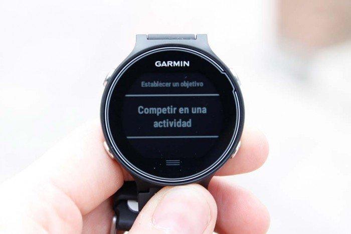 Garmin Forerunner 630 - Competir contra actividad