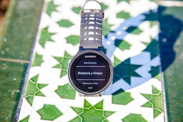Garmin Forerunner 630 - Objetivo distancia y tiempo