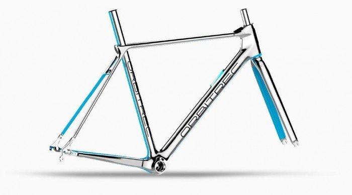 Orbitrec 3D printed bike