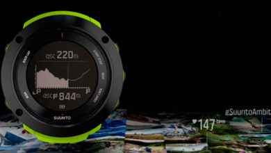 Suunto Ambit3 Vertical - Route Altimetry Profile