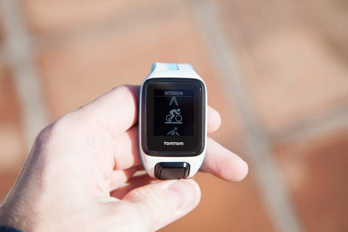 TomTom Runner 2 - Indoor cycling
