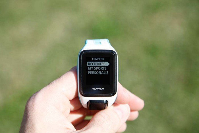 TomTom Runner 2 - Competing activity