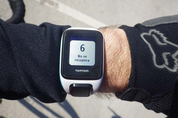 TomTom Runner 2 - Recovery after exercise
