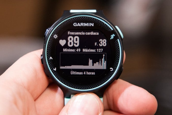 Garmin Forerunner 235 - Heart Rate Widget