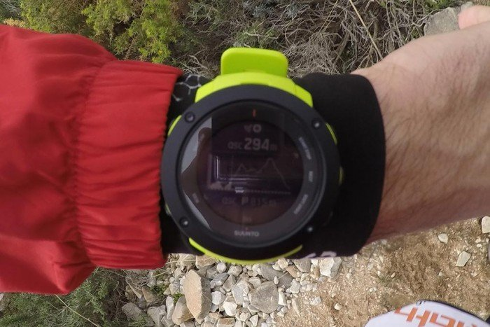 Suunto Ambit3 Vertical - Altimetría trail