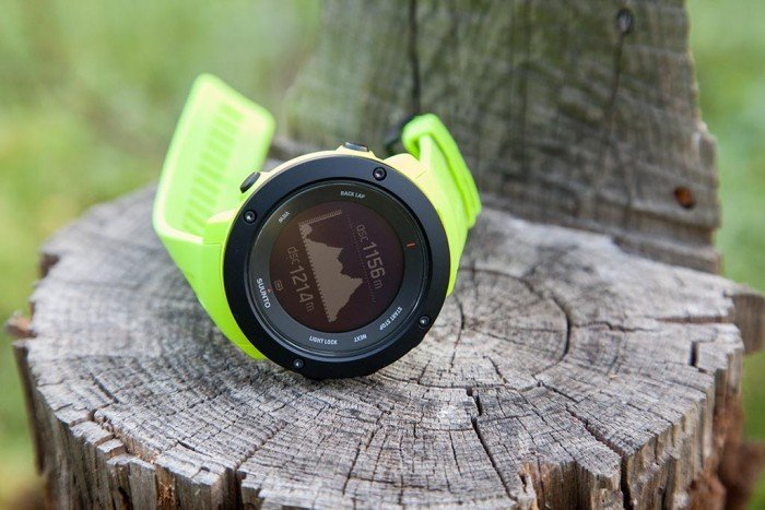 Suunto Ambit3 Vertical - Perfil final de ruta