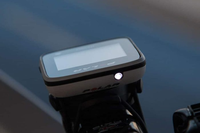 Polar M450 - Luz frontal