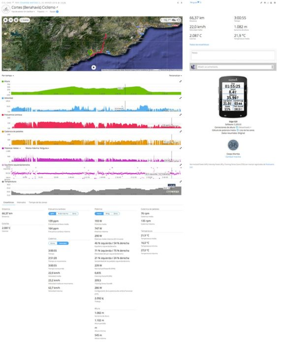 Garmin Connect - Cycling