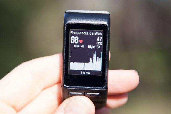 Garmin Vivoactive HR - Frecuencia cardíaca