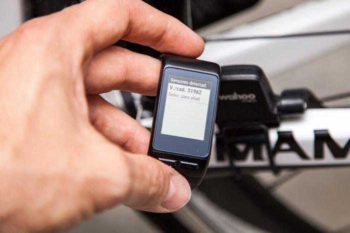 Garmin Vivoactive HR - Sensores de cicliismo