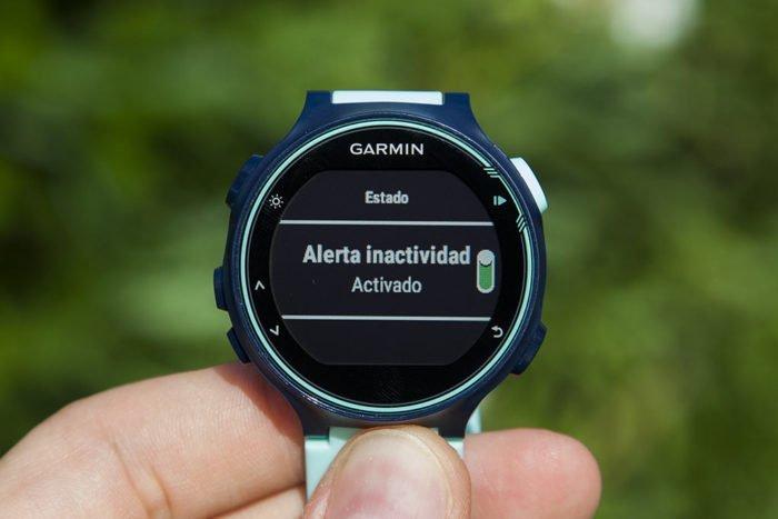 Garmin Forerunner 735XT - Desactivar inactividad