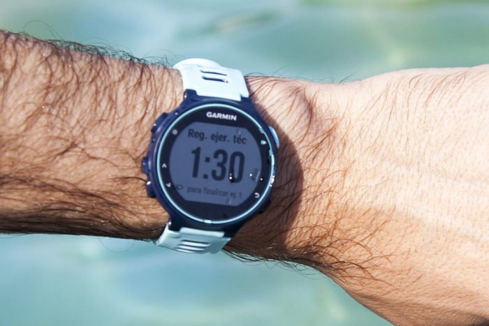 Garmin Forerunner 735XT - Registro de ejercicio en natación