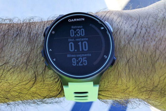 Garmin 735XT - Realizar segmento