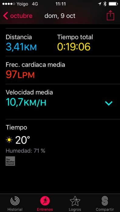 Apple Watch S2 - Sin mapa