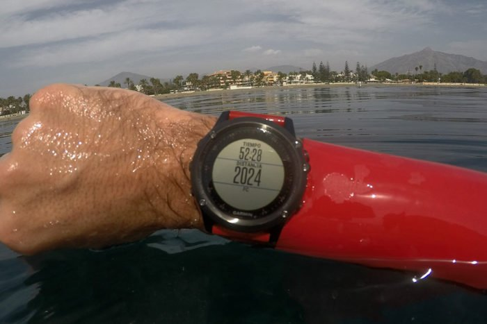 Apple Watch S2 - Natación en aguas abiertas