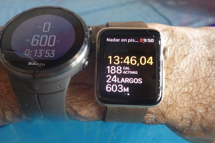 Apple Watch S2 - Natación en piscina