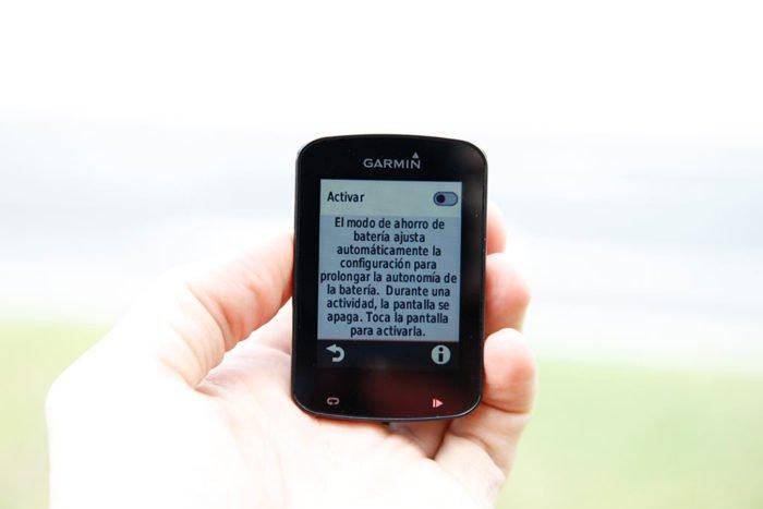 Garmin Edge 820 - Battery Saver