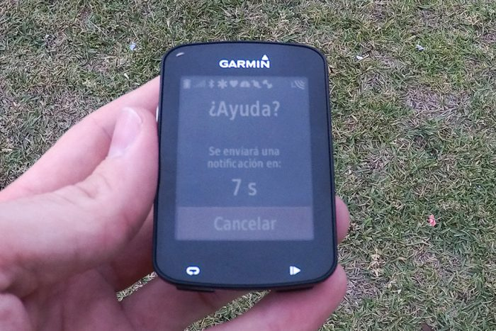 Garmin Edge 820 - Detección de incidentes