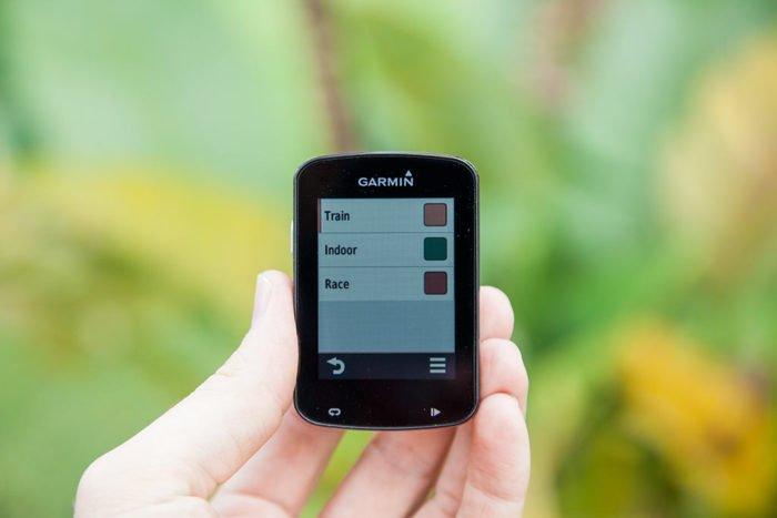 Garmin Edge 820 - Profiles