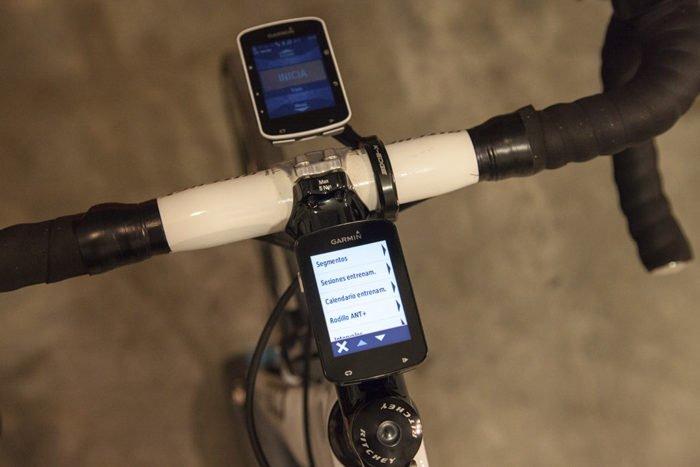 Garmin Edge 820 - ANT+ Roller Menu