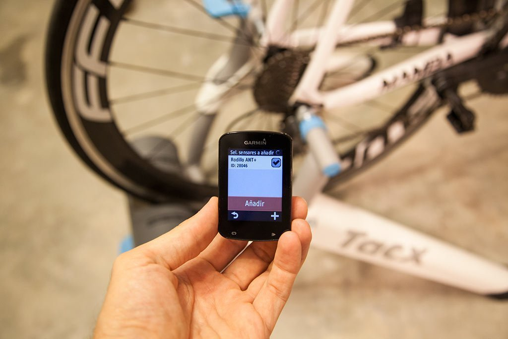 Garmin Edge 820 - Rodillo ANT+
