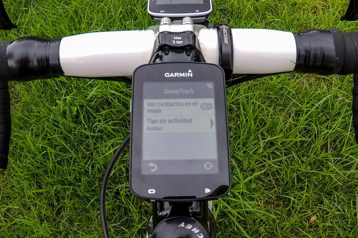 Garmin Edge GroupTrack