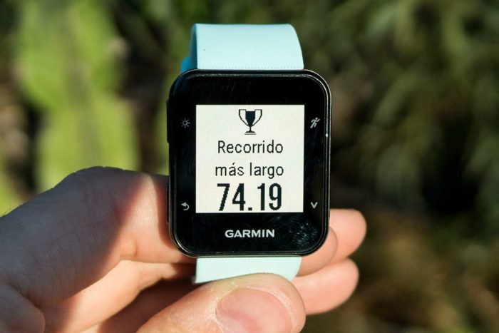 Garmin Forerunner 35 - Cycling record