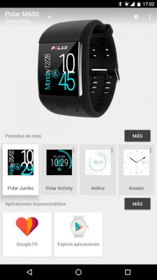 Polar M600 - Android Wear Application