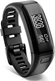 Garmin vívosmart® HR - pulsera de actividad con pulsómetro integrado Garmin Elevate, color negro, talla normal