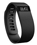 Fitbit Charge - Pulsera de actividad física y sueño inalámbrica, talla L, color negro