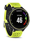 Garmin Forerunner 230 - Unisex, yellow and black, regular size, GPS and docking watch