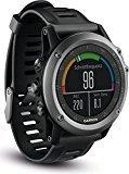 Garmin Fenix 3 Performer - Reloj con pulsímetro integrado con correa de plástico para hombre, color negro