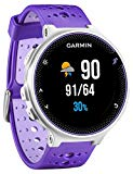 Garmin Forerunner 230 - Pack with race clock and premium pulse meter, unisex, color purple and white, regular size