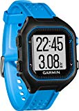 Garmin Forerunner 25 - Black and blue sports watch, size L