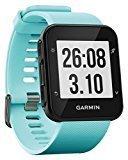 Garmin Forerunner 35 - Reloj GPS con monitor de frecuencia cardiaca en la muñeca, monitor de actividad y notificaciones inteligentes, color turquesa