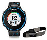 Garmin Forerunner 620 HRM - GPS Race Watch with Heart Rate Monitor, Black / Blue