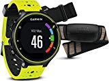 Garmin Forerunner 230 - Pack with race clock and premium pulse meter, unisex, yellow and black, regular size