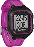 Garmin Forerunner 25 - Sports watch with heart rate monitor, black and purple, size S