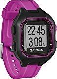 Garmin Forerunner 25 - Reloj deportivo, color negro y morado, talla S