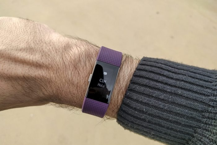 Fitbit Charge 2 - Notificación