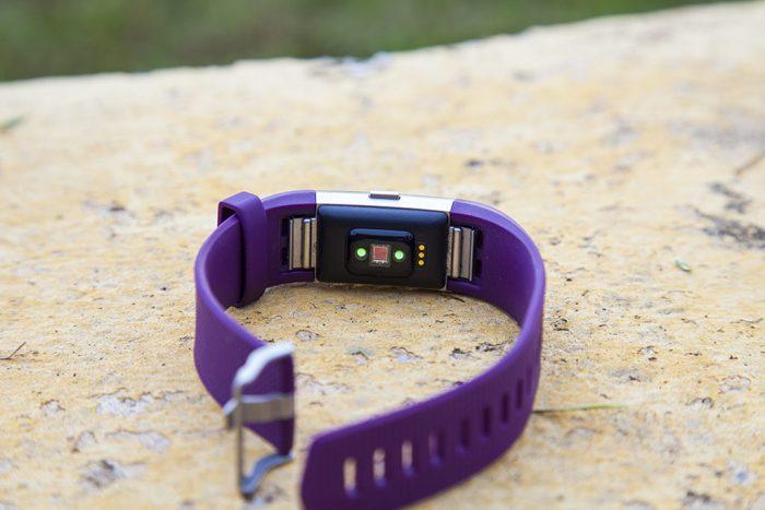 Fitbit Charge 2 - Sensor de pulso óptico