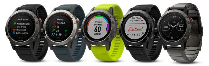 Garmin Fenix 5 - Collection