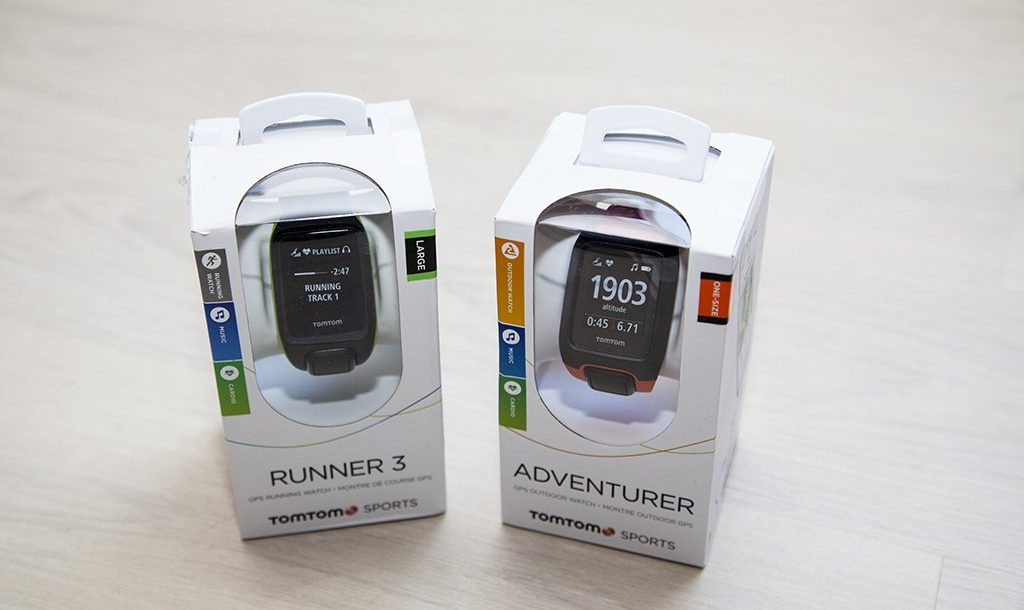 TomTom Runner 3 / Adventurer