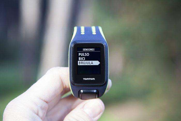 TomTom Runner 3 - Sensores