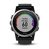Garmin Fenix 5s deporte gps reloj con al aire libre navegación y ritmo cardíaco, pantalla de 1.1 inches, 0.069 kilograms, color cinta negra