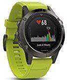 Garmin Fenix 5s deporte gps reloj con al aire libre navegación y ritmo cardíaco, pantalla de 1.2 inches, 0.067 kilograms, color Yellow Band
