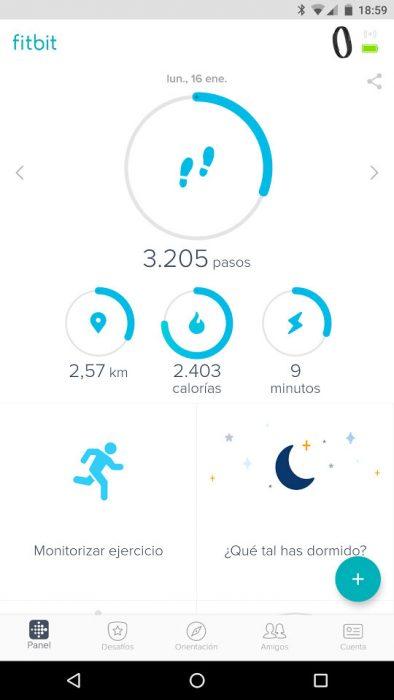 Fitbit Flex 2 - App