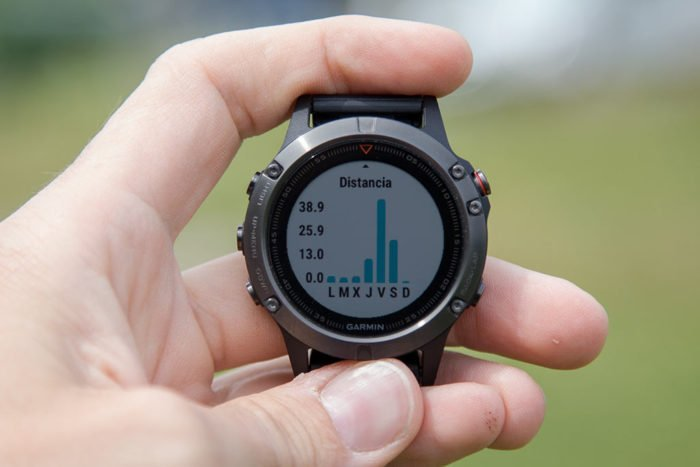 Garmin Fenix 5 - Monitor de actividad