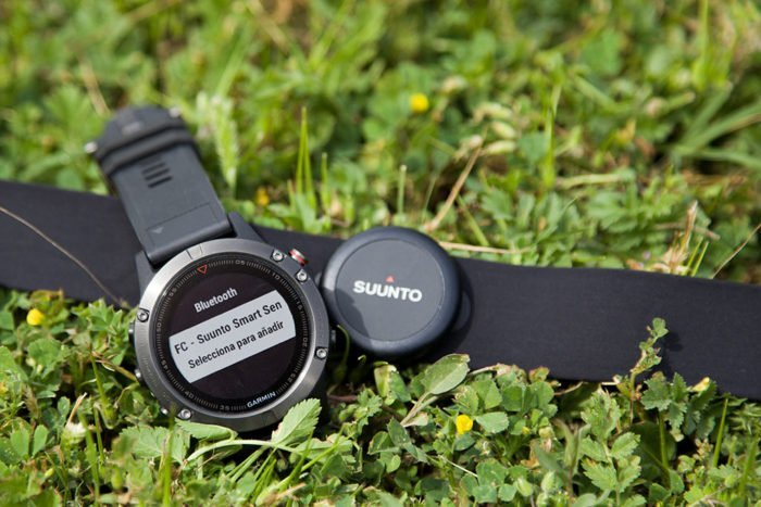 Garmin Fenix 5 - Sensor Bluetooth Suunto